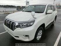 Used 2017 TOYOTA LAND CRUISER PRADO BG858138 for Sale for Sale