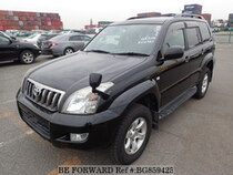 Used 2007 TOYOTA LAND CRUISER PRADO BG859425 for Sale for Sale