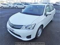 Used 2015 TOYOTA COROLLA AXIO BG865650 for Sale for Sale