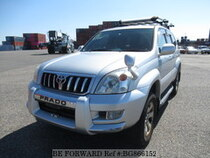 Used 2004 TOYOTA LAND CRUISER PRADO BG866152 for Sale for Sale