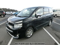 Used 2009 TOYOTA VOXY BG865988 for Sale for Sale