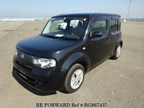 Used 2011 NISSAN CUBE BG867437 for Sale for Sale