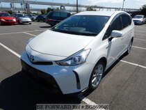 Used 2015 TOYOTA PRIUS ALPHA BG869040 for Sale for Sale