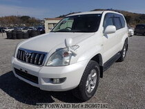 Used 2005 TOYOTA LAND CRUISER PRADO BG957182 for Sale for Sale