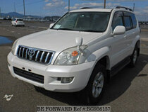 Used 2005 TOYOTA LAND CRUISER PRADO BG956157 for Sale for Sale