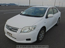 Used 2008 TOYOTA COROLLA AXIO BH160732 for Sale for Sale