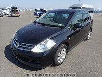 Used 2010 NISSAN TIIDA BH165880 for Sale for Sale
