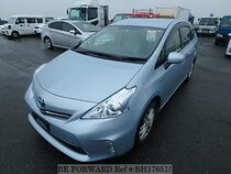 Used 2012 TOYOTA PRIUS ALPHA BH176515 for Sale for Sale