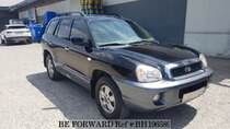 Used 2005 HYUNDAI SANTA FE BH196589 for Sale for Sale