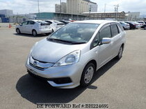 Used 2015 HONDA FIT SHUTTLE HYBRID BH224692 for Sale for Sale