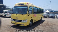 2009 HYUNDAI COUNTY LONG BODY_21 SEATS_ORI.MILEAGE