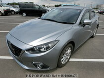 Used 2015 MAZDA AXELA HYBRID BH260471 for Sale for Sale
