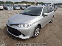 Used 2015 TOYOTA COROLLA FIELDER BH267866 for Sale for Sale