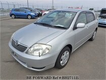 Used 2001 TOYOTA COROLLA RUNX BH271122 for Sale for Sale