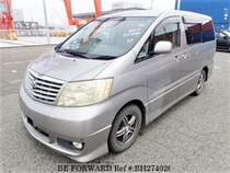 Used 2005 TOYOTA ALPHARD BH274026 for Sale for Sale