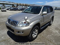 Used 2003 TOYOTA LAND CRUISER PRADO BH331556 for Sale for Sale