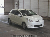 Used 2015 MITSUBISHI MIRAGE BH342410 for Sale for Sale