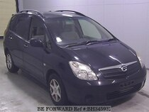 Used 2001 TOYOTA COROLLA SPACIO BH345932 for Sale for Sale