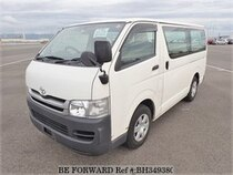 Used 2009 TOYOTA REGIUSACE VAN BH349380 for Sale for Sale