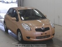 Used 2005 TOYOTA VITZ BH350240 for Sale for Sale