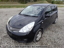 Used 2009 NISSAN NOTE BH350388 for Sale for Sale