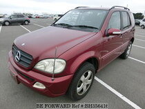 Used 2004 MERCEDES-BENZ M-CLASS BH356416 for Sale for Sale