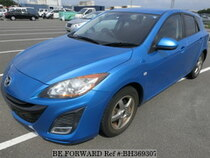 Used 2011 MAZDA AXELA SPORT BH369307 for Sale for Sale