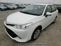 Used 2015 TOYOTA COROLLA AXIO BH380114 for Sale for Sale