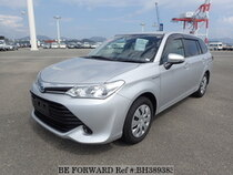 Used 2015 TOYOTA COROLLA FIELDER BH389383 for Sale for Sale
