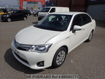 Used 2014 TOYOTA COROLLA AXIO BH391773 for Sale for Sale