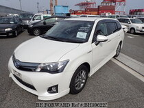 Used 2013 TOYOTA COROLLA FIELDER BH396225 for Sale for Sale