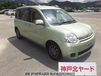 Used 2012 TOYOTA SIENTA BH396419 for Sale for Sale