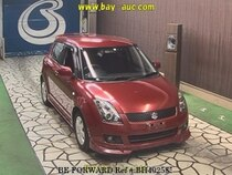 Used 2010 SUZUKI SWIFT BH402585 for Sale for Sale