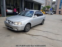 Used 2001 HYUNDAI VERNA BH416381 for Sale for Sale