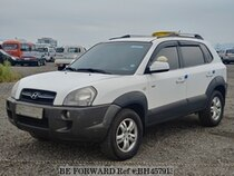 Used 2007 HYUNDAI TUCSON BH457913 for Sale for Sale