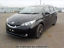 Used 2009 TOYOTA WISH BH481895 for Sale for Sale