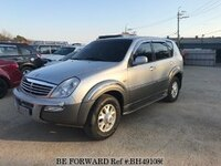 2004 SSANGYONG REXTON AT+4WD+LEATHER SEATS