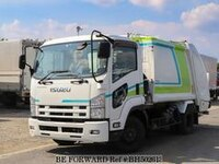 2013 ISUZU FORWARD GARBAGE TRUCK