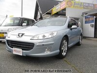 2008 PEUGEOT 407 2.2 LEATHER PACKAGE