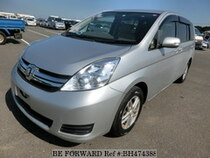 Used 2012 TOYOTA ISIS BH474388 for Sale for Sale