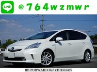 2011 TOYOTA PRIUS ALPHA 1.8S  TOURING SELECTION