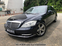 2010 MERCEDES-BENZ S-CLASS SUNROOF-LED-KYLESS-NAV-DVD