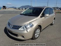 Used 2012 NISSAN TIIDA BH558246 for Sale for Sale