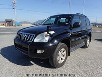 Used 2006 TOYOTA LAND CRUISER PRADO BH574626 for Sale for Sale