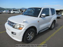 Used 2001 MITSUBISHI PAJERO BH574687 for Sale for Sale