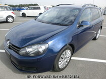 Used 2010 VOLKSWAGEN GOLF VARIANT BH576154 for Sale for Sale