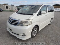 Used 2006 TOYOTA ALPHARD BH581360 for Sale for Sale