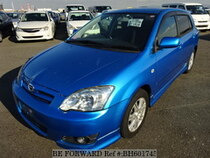 Used 2006 TOYOTA COROLLA RUNX BH601745 for Sale for Sale