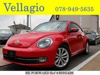 2012 VOLKSWAGEN THE BEETLE DESIGN LEATHER PACKAGE