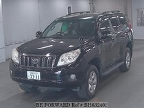 Used 2010 TOYOTA LAND CRUISER PRADO BH632403 for Sale for Sale